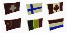 Free Flags China Royalty Free Stock Image - 4476816