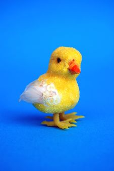 Free Easter Toy Chick Royalty Free Stock Images - 4477129