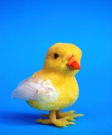 Free Easter Toy Chick Royalty Free Stock Photo - 4477145