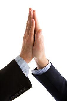 Free High Five Handshake Stock Photo - 4477510