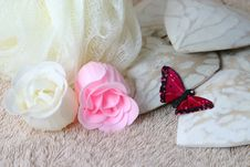 Free Soap Flowers Royalty Free Stock Photo - 4477635