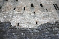 Free Wall Of Fortified Building Royalty Free Stock Photo - 4477765