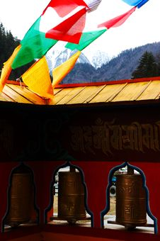 Tibetan Buddhism Facility Royalty Free Stock Photos