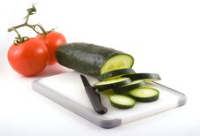Free Cucumber And Tomato Stock Photos - 4479053