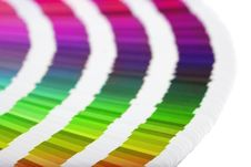 Free Color Guide Close-up Stock Image - 4479251