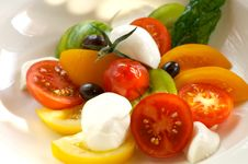 Free Tomato Salad Royalty Free Stock Images - 4479429