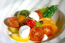Free Tomato Salad Royalty Free Stock Photo - 4479565