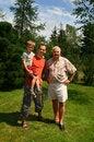 Free Three Generation Family Stock Image - 4481221