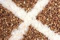 Free Buckwheat With Rice Stock Photo - 4487460