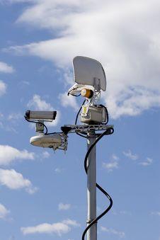 Television Broadcast Antenna Royalty Free Stock Photo