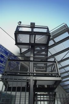 Free Steel Staircase Stock Image - 4481761