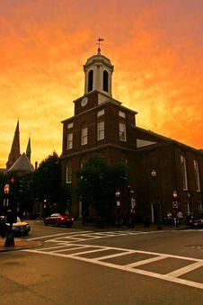 Free Beacon Hill, Boston Royalty Free Stock Photography - 4481987