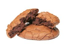 Free Chocolate Truffle Cookies Stock Photography - 4482012