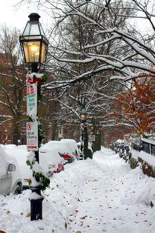 Free Boston Winter Royalty Free Stock Images - 4482579