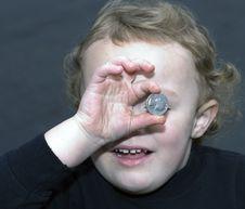 Found Money Royalty Free Stock Photos
