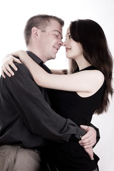 Free Couple Is Caring Stock Image - 4483281