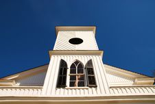 Free Old Church Building Steeple Stock Photography - 4483432