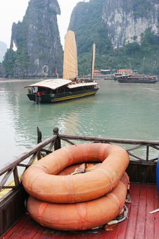 Halong Bay Royalty Free Stock Image