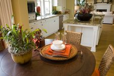 Free Luxury Home Breakfast Table. Royalty Free Stock Photography - 4484647