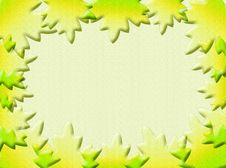 Free Leaves Frame Royalty Free Stock Images - 4484939