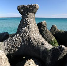 Free Stone Pier Details Stock Photography - 4485022