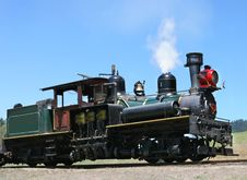 Free Narrow-gauge Steam Train Royalty Free Stock Image - 4485546