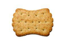 Free Cracker Isolated On White Stock Photo - 4485650