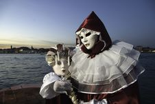 Free Carnival Mask In Venezia Royalty Free Stock Photography - 4486107
