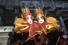 Free Carnival Mask In Venezia Royalty Free Stock Photography - 4486167