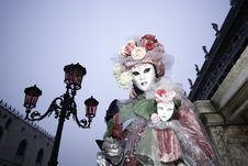 Carnival Mask In Venezia Stock Images
