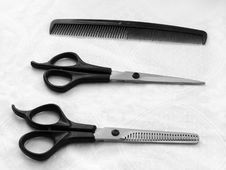 Free Necessary Tools Of The Hairdresser Royalty Free Stock Images - 4486489