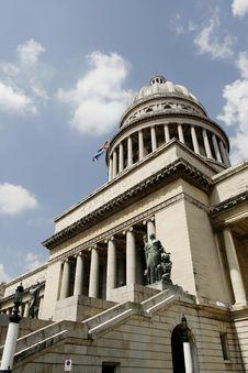 Capitolio At Havana Stock Image