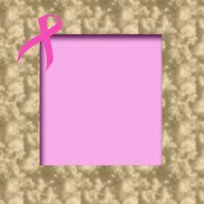 Free Pink Ribbon Scrapbook Stock Photo - 4486800