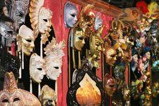 Free Venetian Masks Stock Photography - 4486972