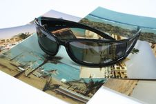 Free Sun Glasses On The Photo Stock Photos - 4488023