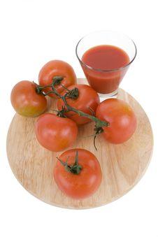 Free Tomatoe Juice Stock Photo - 4488490
