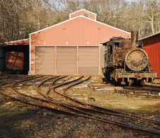 Free Rusted Locomotive Stock Images - 4488904