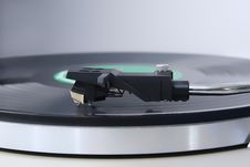Vinyl Player Royalty Free Stock Photo