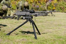 Free General Purpose Machine Gun Stock Photo - 44854260