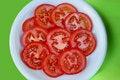 Free Sliced Tomatoes Stock Photo - 4490910