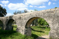 Free Roman Bridge In The Field Stock Image - 4491691