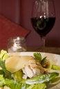 Free Chicken Caesar Salad Stock Photography - 4497182