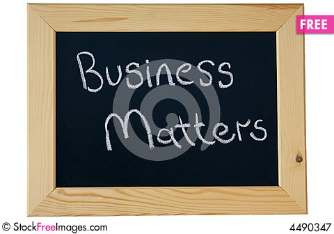Free Business Matters Royalty Free Stock Photography - 4490347