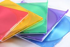 Colors Box Cd Stock Images