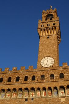 Free Palazzo Vecchio In Florence Stock Images - 4490694