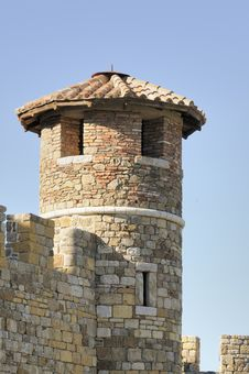 Free Conical Castle Tower Stock Photography - 4490772