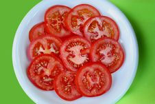 Free Sliced Tomatoes Stock Photo - 4490910