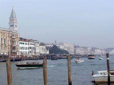 Free Venice: Canal Grande Stock Image - 4491441