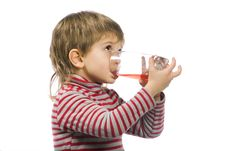 Free Drinking Boy Royalty Free Stock Images - 4491479