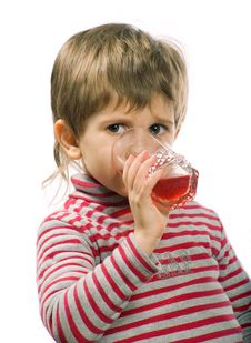 Free Little Drinking Boy Royalty Free Stock Photography - 4491527